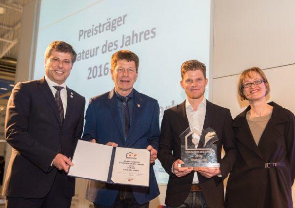Branchenpreis Stuckateur des Jahres verliehen