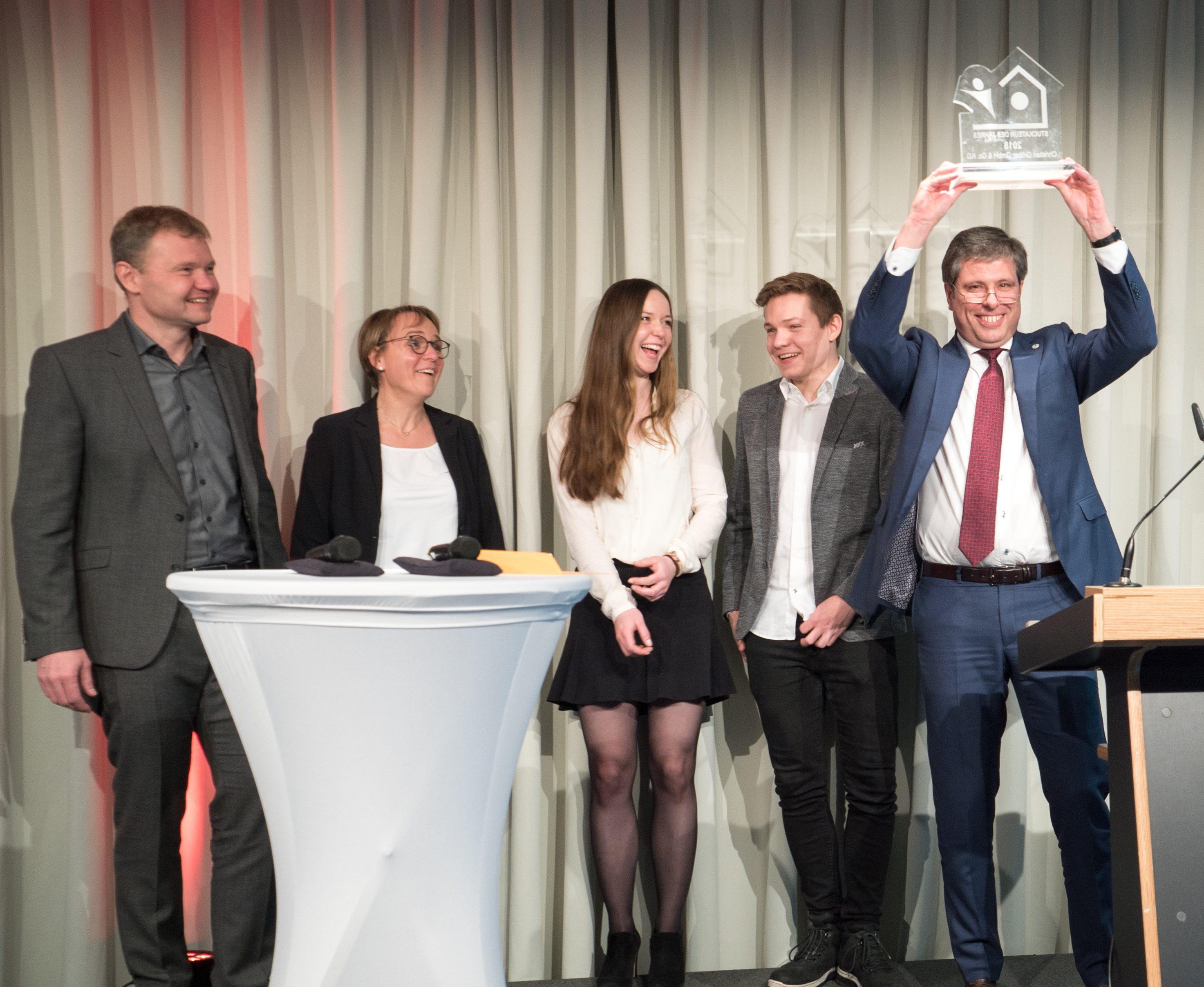 Stuckateur des Jahres 2018 - Vorstellung der Preisträger