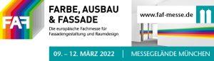 FAF FARBE, AUSBAU & FASSADE 2022