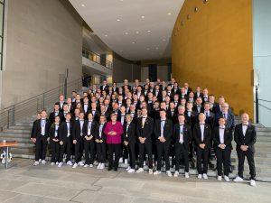 Bundeskanzlerin empfängt die Deutsche Berufe-Nationalmannschaft